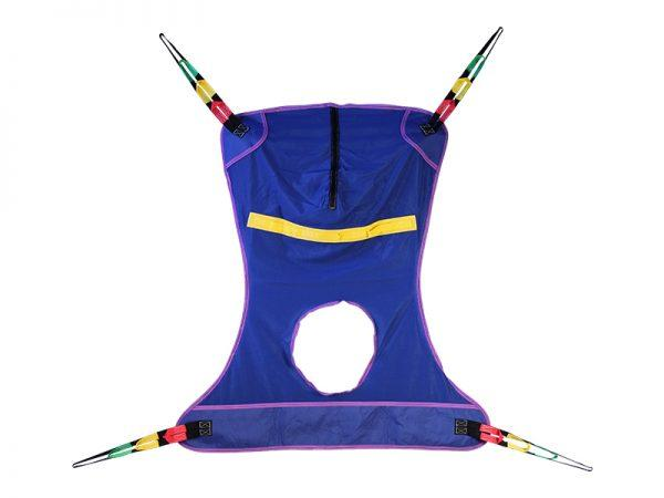 Full Body Sling-Mesh w/Commode Cut-Out-XL 30116