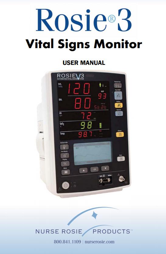 Rosie 3 Vital Sign Monitor