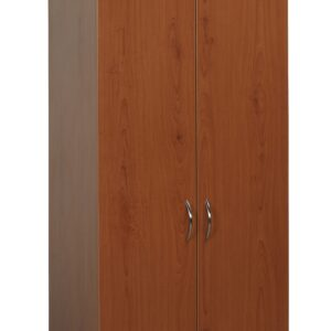 Oslo Wardrobe Lg 2 Door Figured Mahogany
