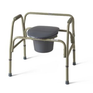Steel Bariatric Commode - FREE Shipping