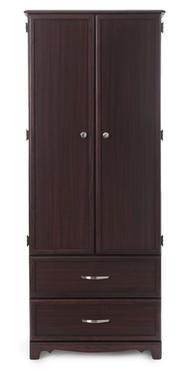 MedaCure Wardrobe - 2 Door / 2 Drawer