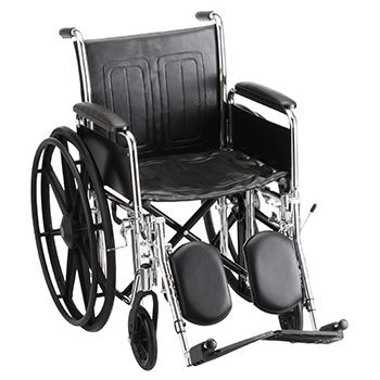 """Wheelchair 18"""" Desk Length Arms W/ Elevated Leg Rests (FREE SHIPPING)"""
